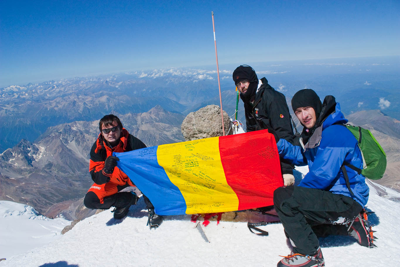 Mount Elbrus Summit II – 5642m