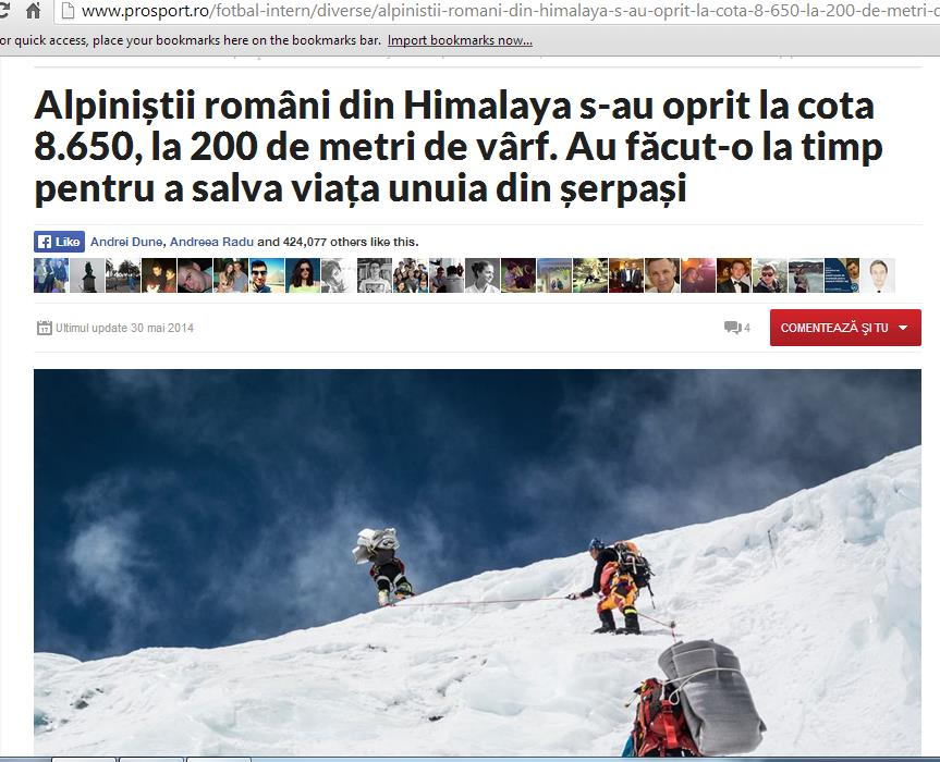 Monitorizare Everest Romania